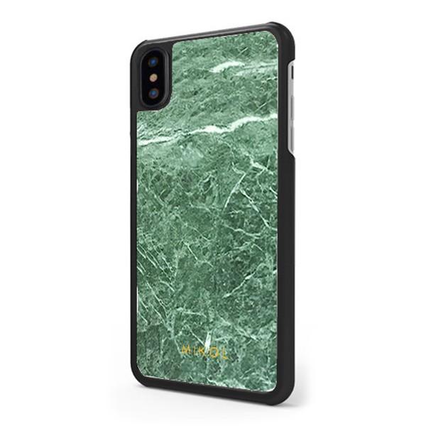 Mikol Marmi - Cover iPhone in Marmo Verde Smeraldo - iPhone X / XS - Vero Marmo - Cover iPhone - Apple - Mikol Marmi Collection