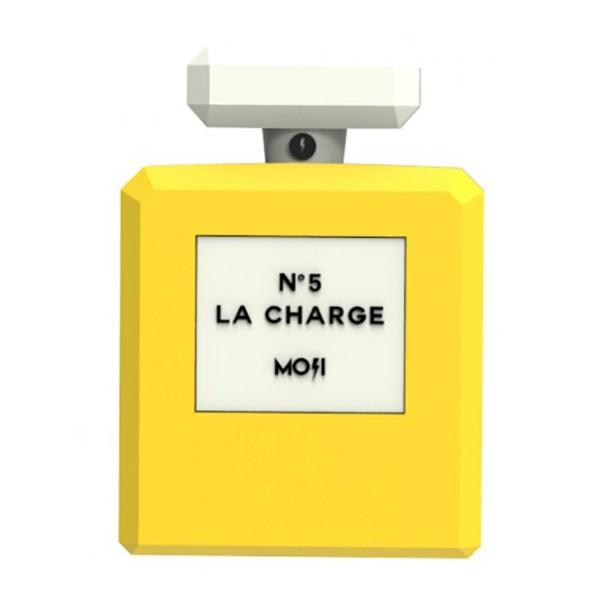 Moji Power - Perfume - High Capacity Portable Power Bank Emoji Icon USB Charger - Portable Batteries - 2600 mAh