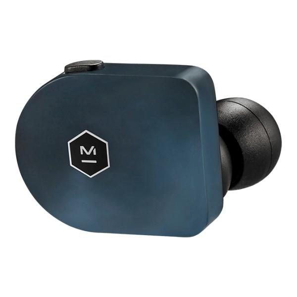 Master & Dynamic - MW07 - Acetato Blu Acciaio - Auricolari True Wireless di Alta Qualità