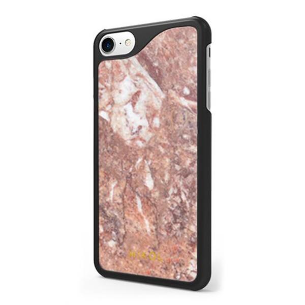 Mikol Marmi - Cover iPhone in Marmo Rosso Verona - iPhone X - Vero Marmo - Cover iPhone - Apple - Mikol Marmi Collection