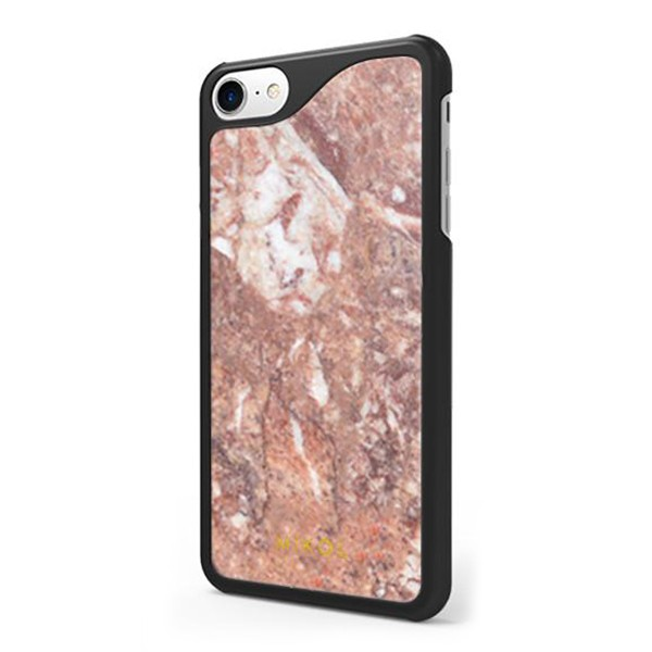 Mikol Marmi - Red Verona Marble iPhone Case - iPhone XS Max - Real Marble Case - iPhone Cover - Apple - Mikol Marmi Collection
