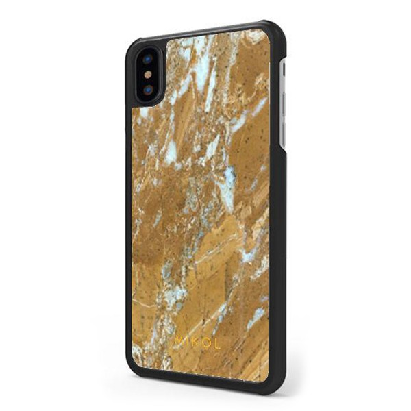 bce9857f2cf4 Mikol Marmi - Gold Marble iPhone Case - iPhone XS Max - Real Marble Case -