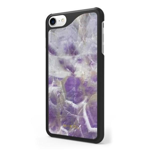 Mikol Marmi - Cover iPhone in Quarzo Ametista - iPhone X / XS - Vero Marmo - Cover iPhone - Apple - Mikol Marmi Collection