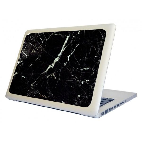 Mikol Marmi - Marquina Black Marble MacBook Skin - 13 - Real Marble Skin - MacBook Skin - Apple - Mikol Marmi Collection
