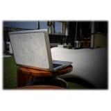Mikol Marmi - Skin MacBook in Marmo Bianco di Carrara - 15 - Vero Marmo - MacBook Skin - Apple - Mikol Marmi Collection