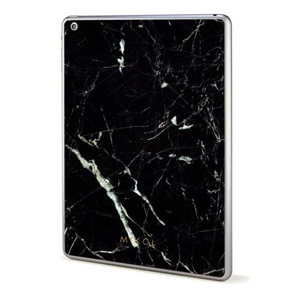 Mikol Marmi - Skin iPad in Marmo Nero Marquina - Vero Marmo - iPad Skin - Apple - Mikol Marmi Collection