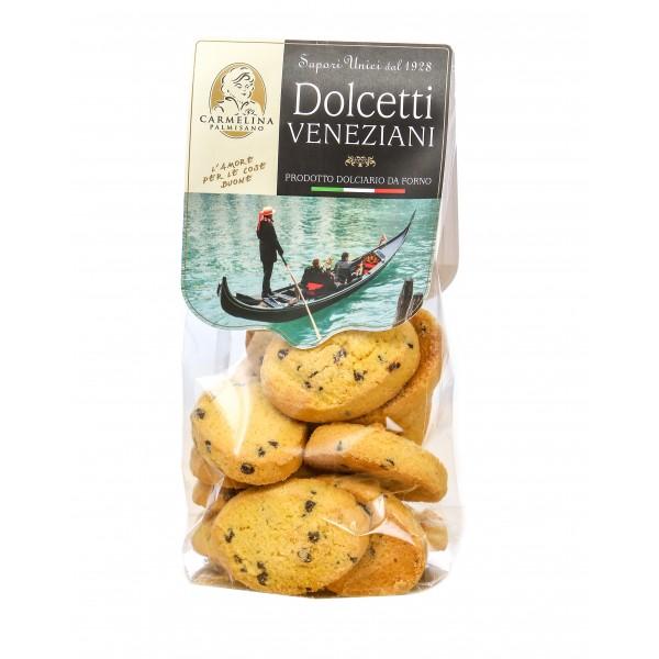 Biscotteria Veneziana - Carmelina Palmisano - Zaletti with Raisins