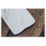 Mikol Marmi Cover Iphone In Marmo Bianco Di Carrara Iphone 8 7