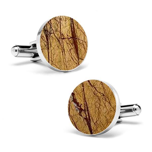 Mikol Marmi - Gemelli Rotondi in Marmo Sabbia del Deserto - Vero Marmo - Mikol Marmi Collection