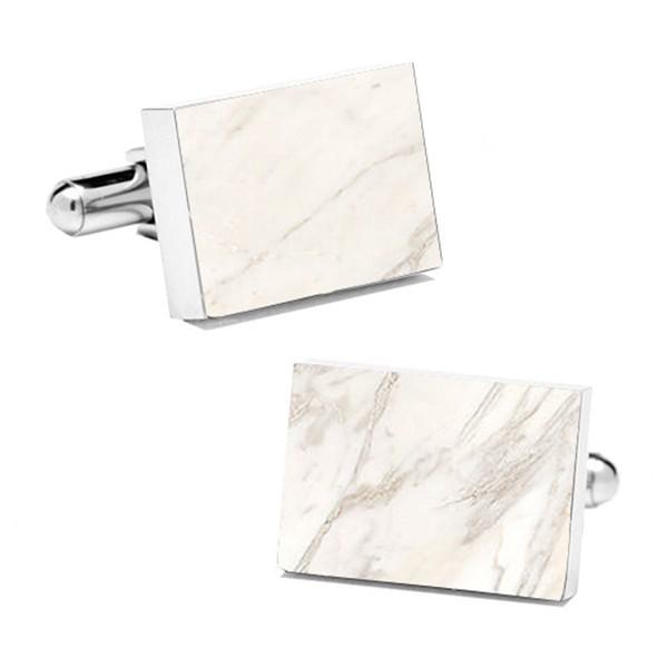 Mikol Marmi - Gemelli Rettangolari in Marmo Bianco di Carrara - Vero Marmo - Mikol Marmi Collection