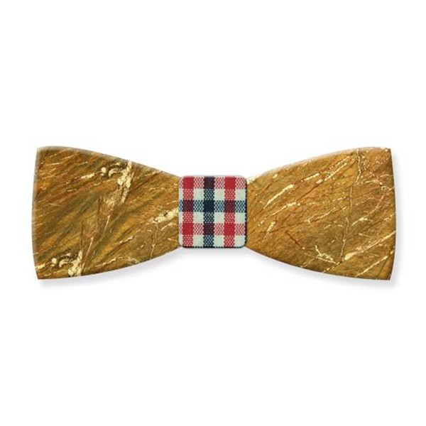 Mikol Marmi - Galaxy Gold Gemstone Marble Bow Tie - Papillon - Real Marble - Mikol Marmi Collection