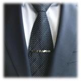 Mikol Marmi - Desert Sand Gemstone Marble Tie Bar - Real Marble - Mikol Marmi Collection