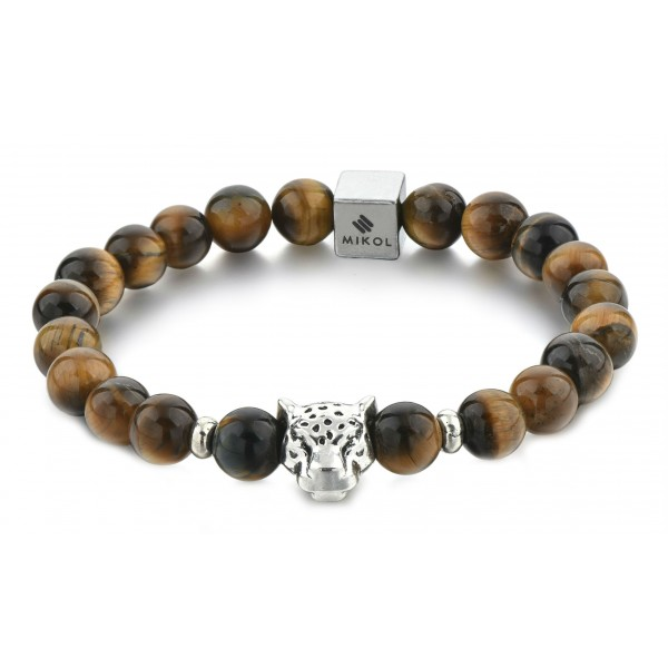 Mikol Marmi - Tiger Eye Gemstone Marble Beaded Bracialet - Real Marble - Mikol Marmi Collection