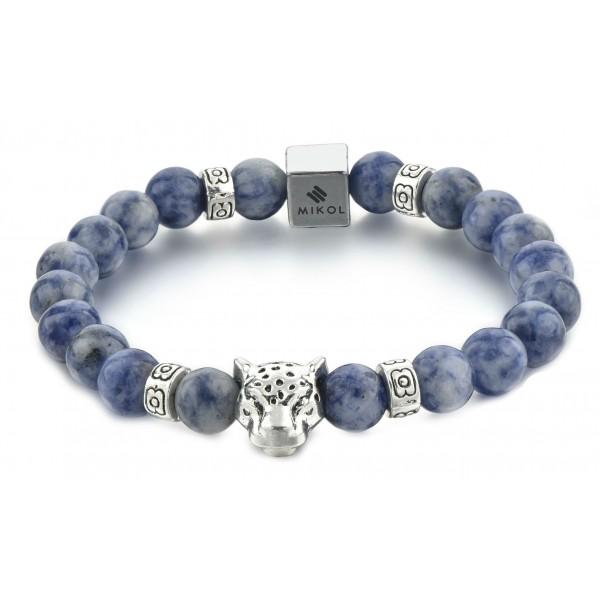 Mikol Marmi - Braccialetto di Perle in Marmo Laguna Blu - Vero Marmo - Mikol Marmi Collection