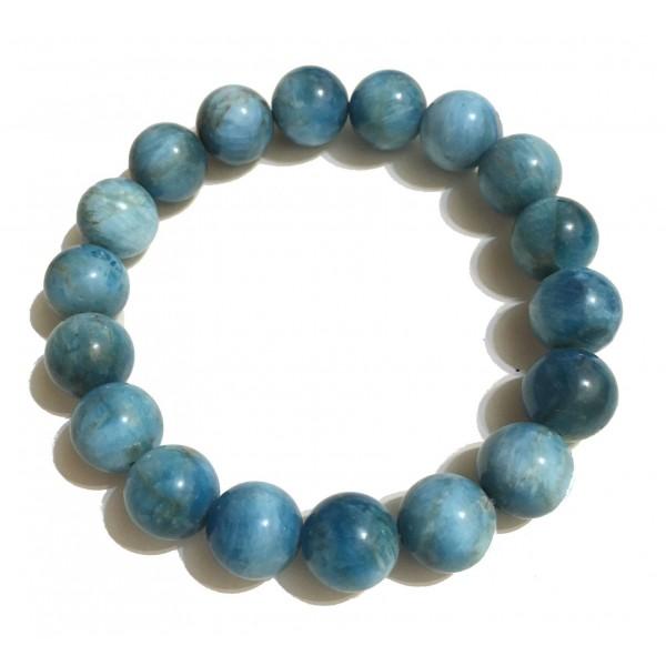 Mikol Marmi - Braccialetto di Perle in Marmo Ocean Blue - Vero Marmo - Mikol Marmi Collection