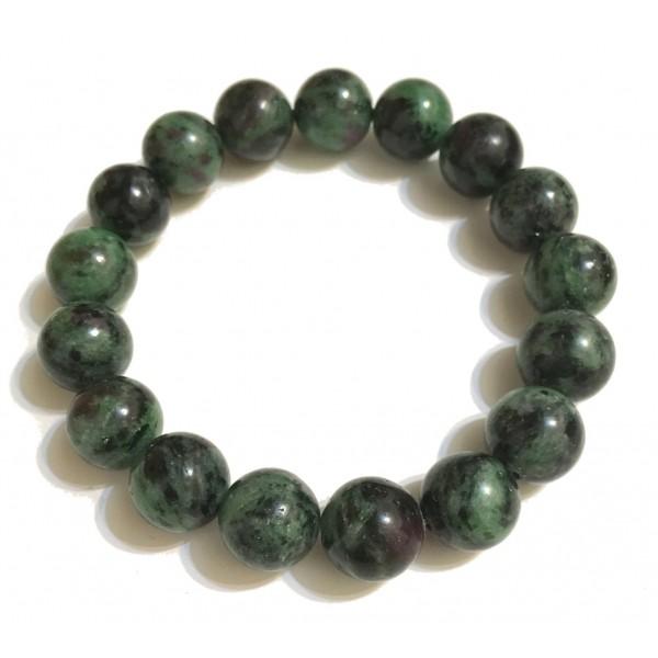 Mikol Marmi - Braccialetto di Perle in Marmo Verde Smeraldo - Vero Marmo - Mikol Marmi Collection