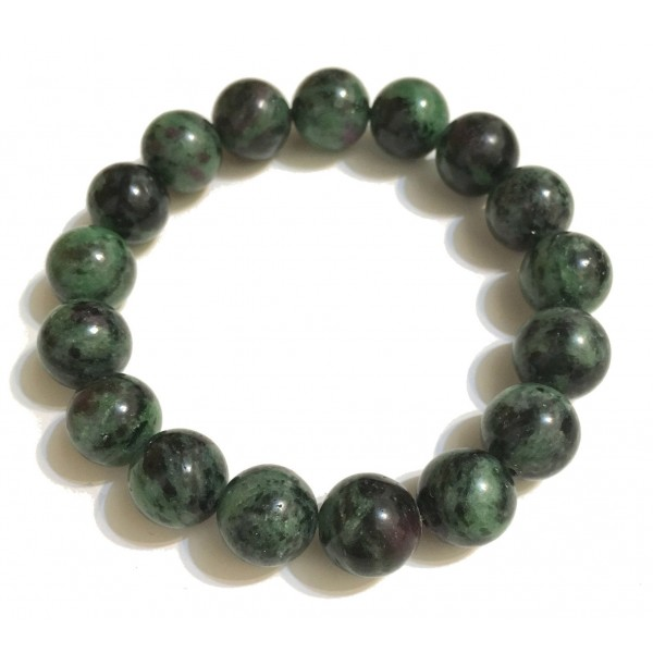 Mikol Marmi - Emerald Green Gemstone Marble Beaded Bracialet - Real Marble - Mikol Marmi Collection