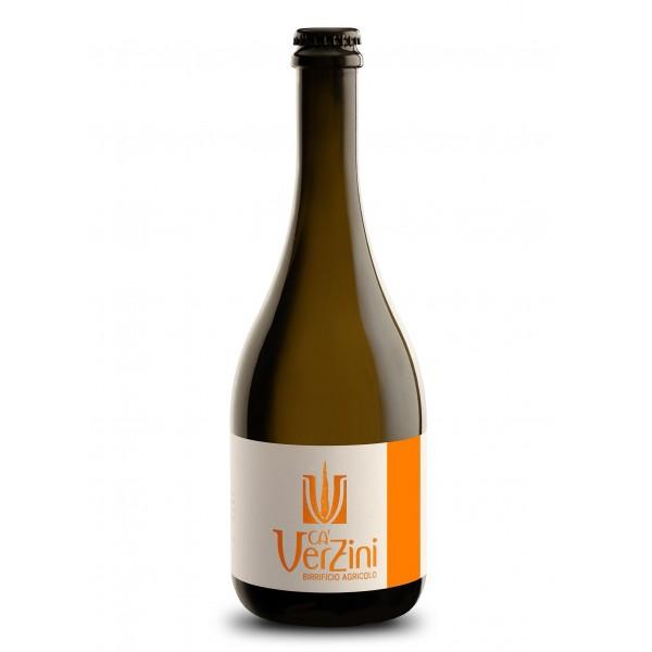 Ca' Verzini - Birrificio Agricolo - Anteprima 1 Copper Lager - Birra Speciale Artigianale Italiana di Alta Qualità - 750 ml