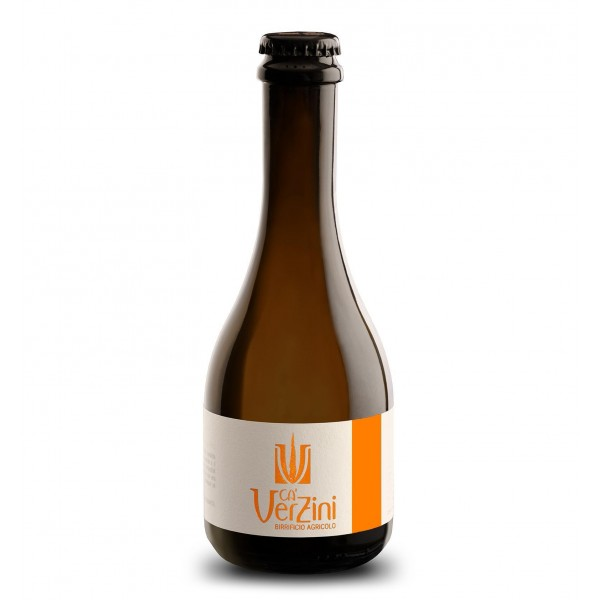 Ca' Verzini - Agricultural Brewery - Anteprima 1 Copper Lager - Special Beer - High Quality Artisan Italian Beer - 330 ml
