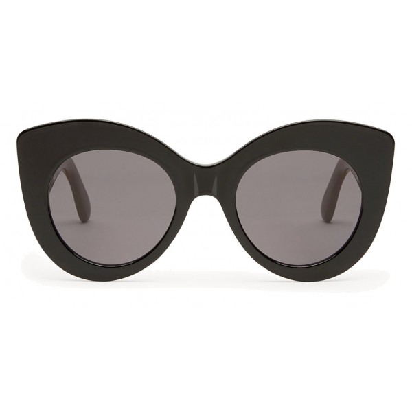 382258e8b389 Fendi - F is Fendi - Black and Brown Cat Eye Sunglasses - Sunglasses - Fendi  Eyewear - Avvenice