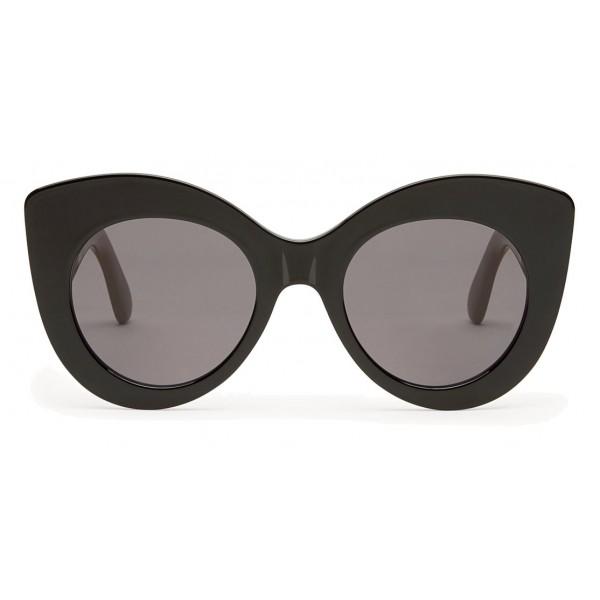 scarpe di separazione dc270 82f6c Fendi - F is Fendi - Occhiali da Sole Cat Eye Nero e Marrone - Occhiali da  Sole - Fendi Eyewear