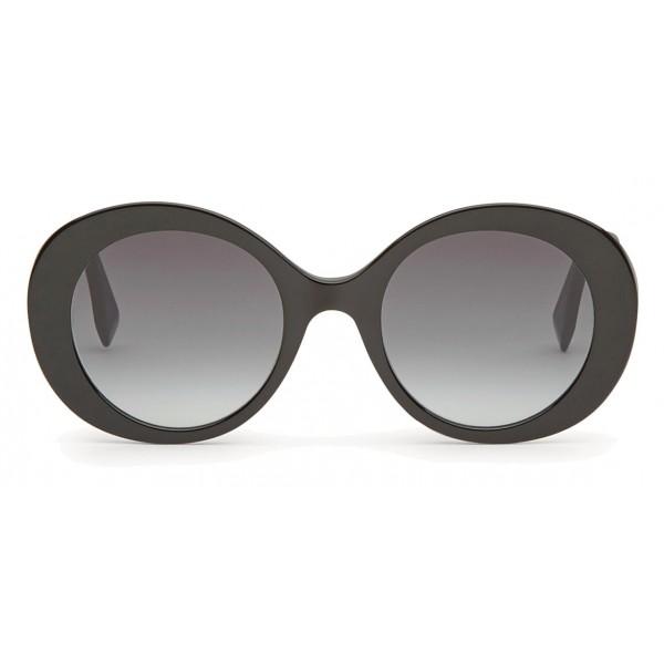 6febbda706 Fendi - Peeakaboo - Black Round Sunglasses - Sunglasses - Fendi Eyewear -  Avvenice