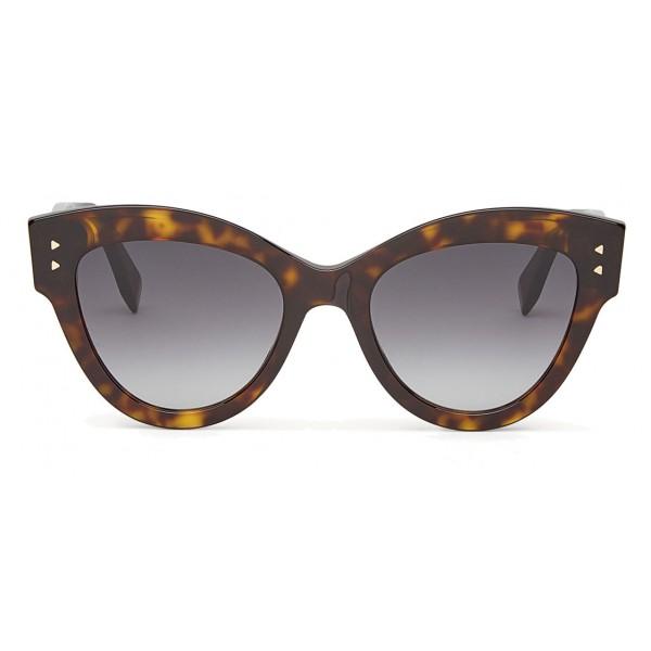 1dc55ef0dcc Fendi - Peeakaboo - Havana Brown Cat Eye Sunglasses - Sunglasses - Fendi  Eyewear - Avvenice