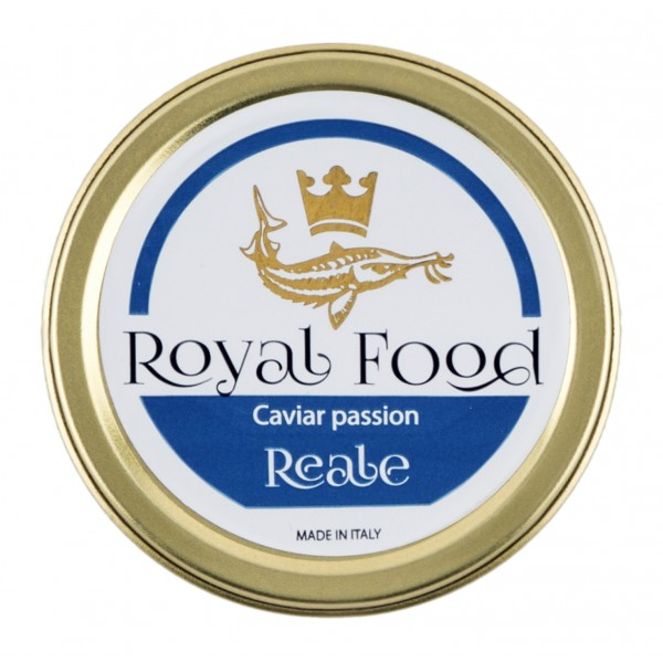 Royal Food Caviar - Reale - Caviale Oscetra - Storione Russo - 250 g