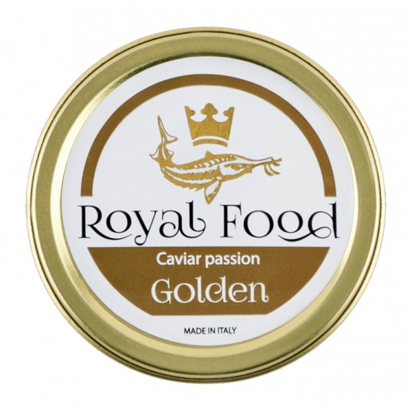 Royal Food Caviar - Golden - Caviale Siberiano - Storione Sevruga - 100 g