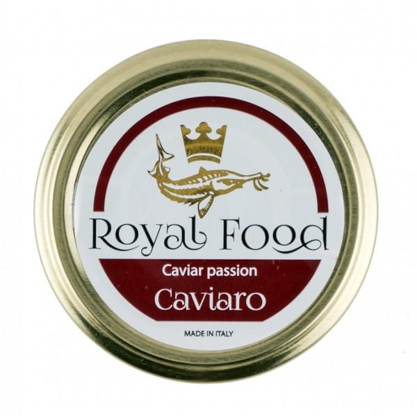 Royal Food Caviar - Caviaro - Caviale Baeri Pastorizzato - Storione Acipenser SPP - 50 g
