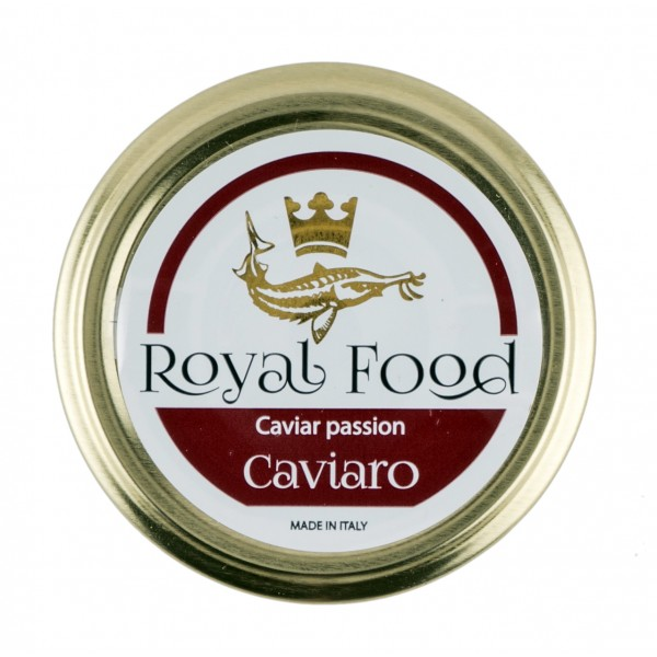 Royal Food Caviar - Caviaro - Selection of Pasteurized Caviar - Sturgeon Acipenser SPP - 50 g
