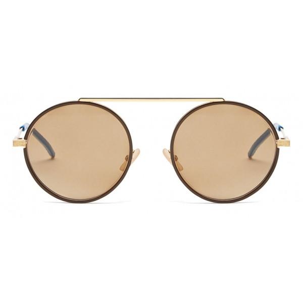 Sunglasses Rounded Fendi Gold Eyewear Everyday TF3lcK1J