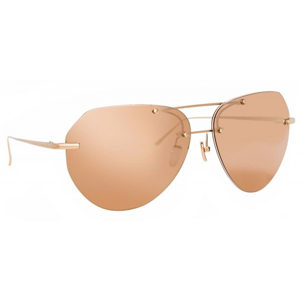 Linda Farrow - Fine Jewellery 18 C3 Aviator Sunglasses - Linda Farrow Fine Jewellery - Linda Farrow Eyewear