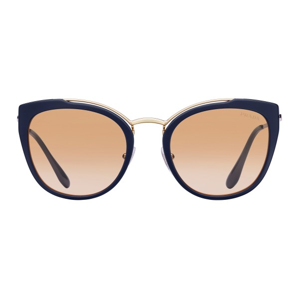 5dcf6920b6afa Prada - Prada Collection - Black and Soleil Round Cat Eye Sunglasses - Prada  Collection -