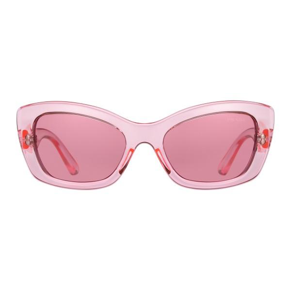 b7f5f758a9c4 Prada - Prada Postcard - Fluo Pink Cat Eye Sunglasses - Prada Postcard  Collection - Sunglasses