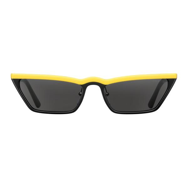 d19a516931e7 Prada - Prada Ultravox - Black Yellow Square Sunglasses - Prada Ultravox  Collection - Sunglasses -
