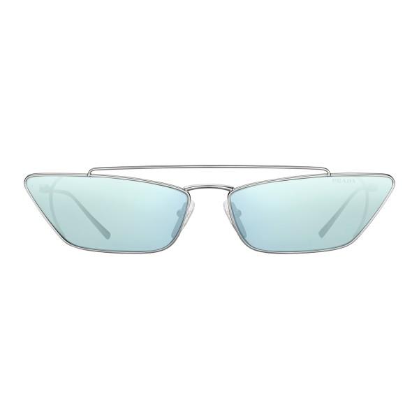 23fd5bf6f670 Prada - Prada Ultravox - Silver Cat Eye Sunglasses - Prada Ultravox  Collection - Sunglasses -