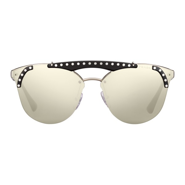 f66bce40bfc62 ... amazon prada prada ornate steel and black cat eye sunglasses prada  ornate collection 13b47 8848c