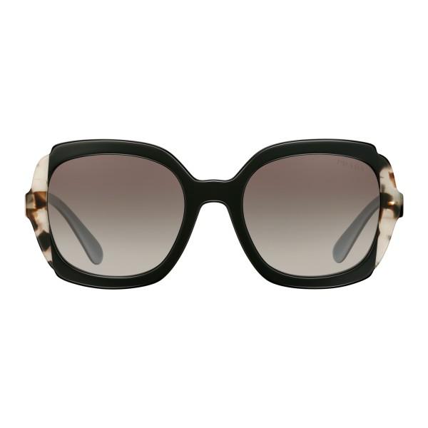 rivenditore all'ingrosso b92a6 fea87 Prada - Prada Collection - Occhiali Quadrati Nero Astrale Tartaruga Talco -  Prada Collection - Occhiali da Sole - Prada Eyewear - Avvenice