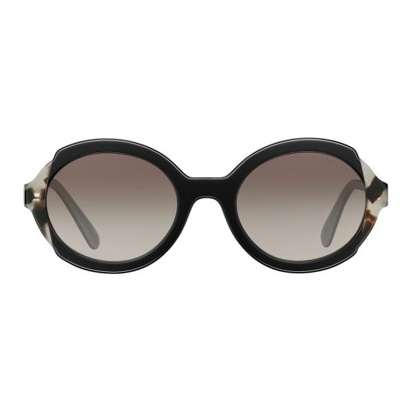 c207abeefe Prada - Prada Collection - Black Astral Talc Tortoise Round Sunglasses -  Prada Collection - Sunglasses