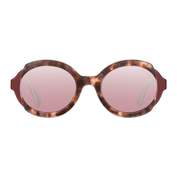 e65dd987323 ... promo code for prada prada collection orchid turtle cerise white round sunglasses  prada collection sunglasses 9288e ...