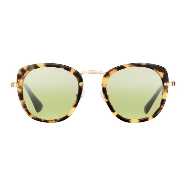 4e3e4f4d43 Prada - Prada Wanderer - Tortoise Medium Square Sunglasses - Prada Wanderer  Collection - Sunglasses -
