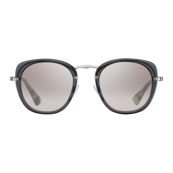 3839a2d9c538c Prada - Prada Wanderer - Transparent Slate Square Sunglasses - Prada  Wanderer Collection - Sunglasses -