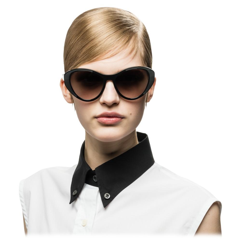 b4bcf2d7f7 ... Prada - Prada Tapestry - Black Cat Eye Sunglasses - Prada Tapestry  Collection - Sunglasses -