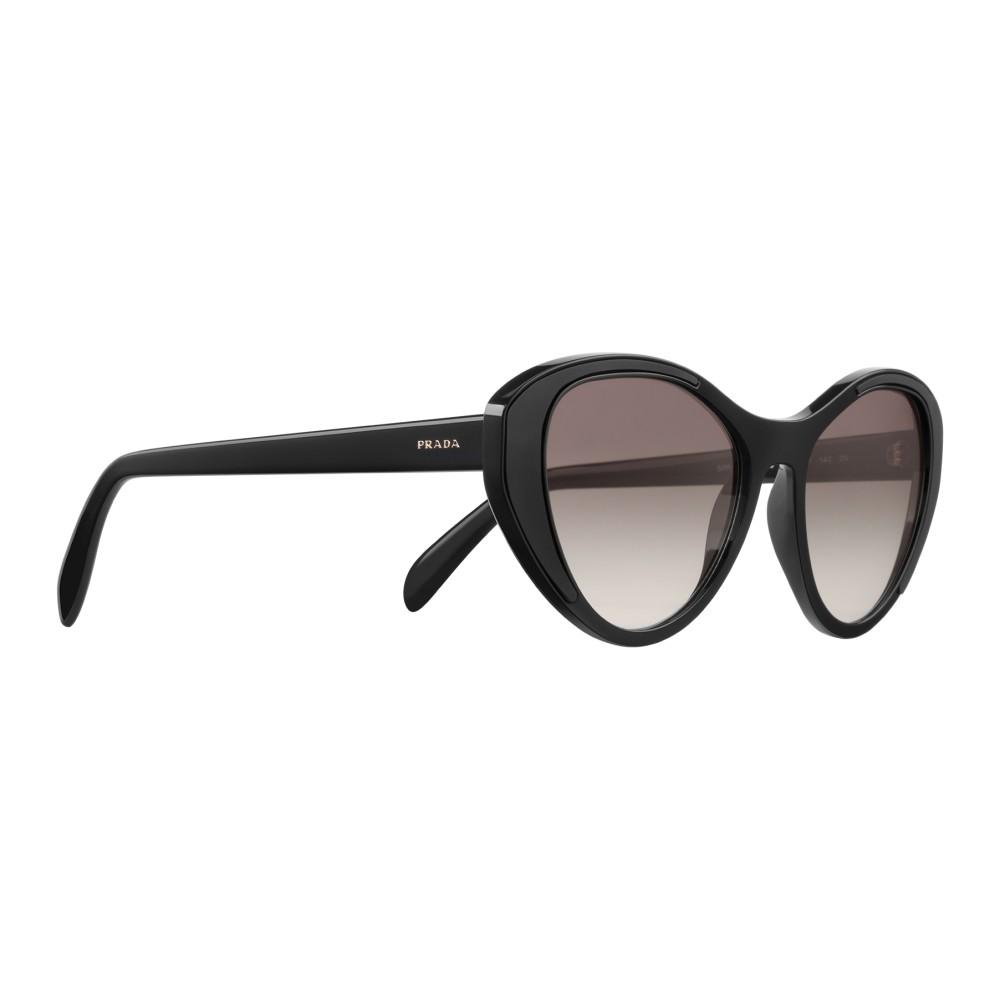 482c633c44 ... Prada - Prada Tapestry - Black Cat Eye Sunglasses - Prada Tapestry  Collection - Sunglasses ...