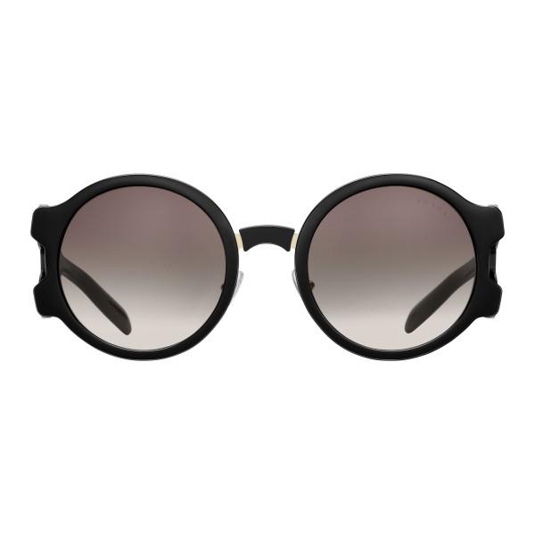 b2ef4422a2 Prada - Prada Tapestry - Black Round Sunglasses - Prada Tapestry Collection  - Sunglasses - Prada