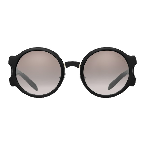 7e499f380a ... france prada prada tapestry black white round sunglasses prada tapestry  collection sunglasses 862ae 7b065