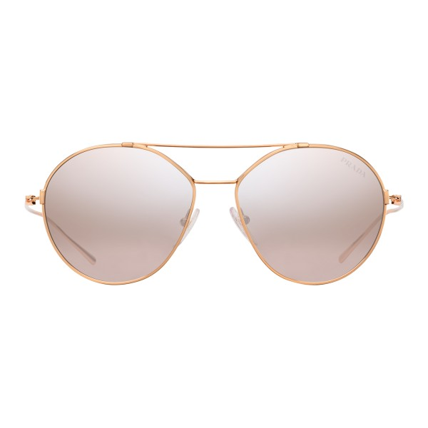 d1684c125409 Prada - Prada Eyewear Collection - Rose Gold Aviator Sunglasses - Prada  Collection - Sunglasses -