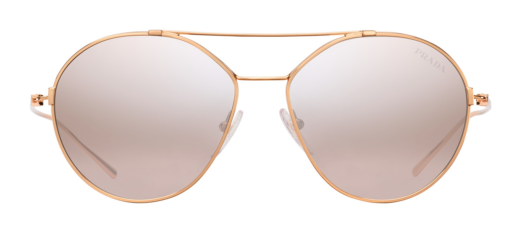 558683c238e4 Prada - Prada Eyewear Collection - Rose Gold Aviator Sunglasses - Prada  Collection - Sunglasses - Prada Eyewear - Avvenice