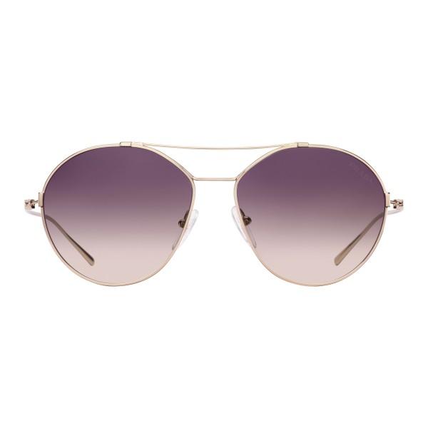 d77d2db2c9 Prada - Prada Eyewear Collection - Pale Gold Aviator Sunglasses - Prada  Collection - Sunglasses -